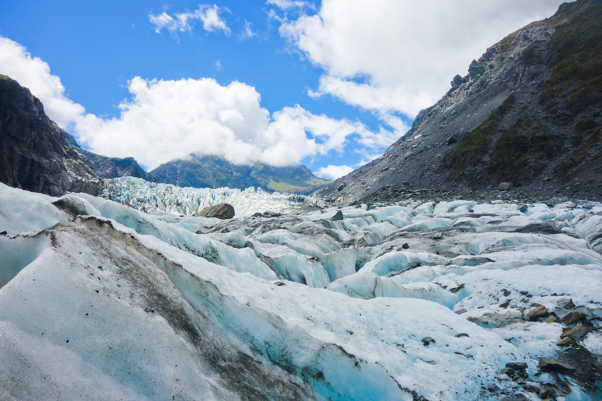 Carla has been around the world, but her favourite place remains the South Island region near the Fox Glacier (pictured). Photo credit: Flying Kiwi Tours // Flickr Creative Commons