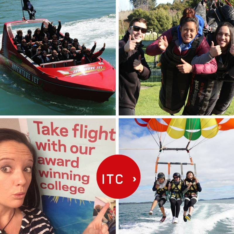 ITC's Tourism Education Team is hitting the road in 2016! Led by Mel Fey (bottom right), the team is bringing tourism short courses to ten regions around New Zealand.